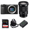 Sony ALPHA 6600 + E PZ 18-105mm f/4 G OSS + SanDisk 64GB Extreme PRO UHS-I 170 MB/s + NP-FZ100 + Sac   Garantie 2 ans