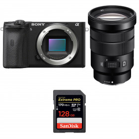 Sony ALPHA 6600 + Sony E PZ 18-105mm f/4 G OSS + SanDisk 128GB Extreme PRO UHS-I SDXC 170 MB/s