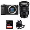 Sony ALPHA 6600 + Sony E PZ 18-105mm f/4 G OSS + SanDisk 128GB Extreme PRO UHS-I SDXC 170 MB/s + Sac   Garantie 2 ans