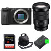 Sony ALPHA 6600 + E PZ 18-105mm f/4 G OSS + SanDisk 128GB Extreme PRO UHS-I 170 MB/s + NP-FZ100 + Camera Bag | 2 Years warranty