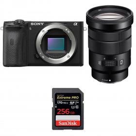 Sony ALPHA 6600 + Sony E PZ 18-105mm f/4 G OSS + SanDisk 256GB Extreme PRO UHS-I SDXC 170 MB/s