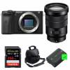 Sony ALPHA 6600 + PZ 18-105mm f/4 G OSS + SanDisk 256GB Extreme PRO UHS-I 170 MB/s + 2 NP-FZ100 + Bolsa | 2 años de garantía