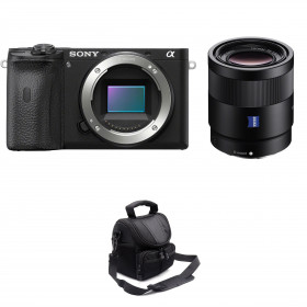 Sony ALPHA 6600 + Sony Sonnar T* FE 55mm f/1.8 ZA + Sac