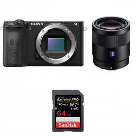 Sony ALPHA 6600 + Sony Sonnar T* FE 55mm f/1.8 ZA + SanDisk 64GB Extreme PRO UHS-I SDXC 170 MB/s