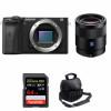 Sony ALPHA 6600 + Sony Sonnar T* FE 55mm f/1.8 ZA + SanDisk 64GB Extreme PRO UHS-I SDXC 170 MB/s + Sac | Garantie 2 ans