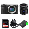Sony ALPHA 6600 + Sonnar T* FE 55mm f/1.8 ZA + SanDisk 64GB Extreme PRO 170 MB/s + 2 NP-FZ100 + Camera Bag | 2 Years Warranty