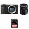 Sony ALPHA 6600 + Sony Sonnar T* FE 55mm f/1.8 ZA + SanDisk 128GB Extreme PRO UHS-I SDXC 170 MB/s | Garantie 2 ans