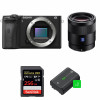 Sony ALPHA 6600 + Sony Sonnar T* FE 55mm f/1.8 ZA + SanDisk 256GB Extreme PRO UHS-I 170 MB/s + 2 NP-FZ100 | 2 Years Warranty