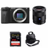 Sony ALPHA 6600 + Sony Sonnar T* FE 55mm f/1.8 ZA + SanDisk 256GB Extreme PRO UHS-I 170 MB/s + Camera Bag | 2 Years Warranty
