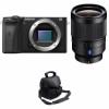 Sony ALPHA 6600 + Sony Distagon T* FE 35mm f/1.4 ZA + Camera Bag | 2 Years Warranty