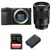 Sony ALPHA 6600 + Sony Distagon T* FE 35mm f/1.4 ZA + SanDisk 64GB Extreme PRO UHS-I SDXC 170 MB/s + NP-FZ100   Garantie 2 ans