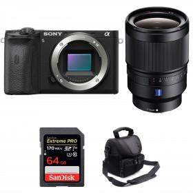 Sony ALPHA 6600 + Sony Distagon T* FE 35mm f/1.4 ZA + SanDisk 64GB Extreme PRO 170 MB/s + Bolsa