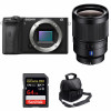 Sony ALPHA 6600 + Sony Distagon T* FE 35mm f/1.4 ZA + SanDisk 64GB Extreme PRO 170 MB/s + Bolsa   2 años de garantía