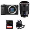 Sony ALPHA 6600 + Sony Distagon T* FE 35mm f/1.4 ZA + SanDisk 64GB Extreme PRO 170 MB/s + Sac   Garantie 2 ans