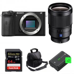 Sony ALPHA 6600 + Distagon T* FE 35mm f/1.4 ZA + SanDisk 64GB Extreme PRO 170 MB/s + 2 NP-FZ100 + Camera Bag | 2 Years Warranty