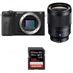 Sony ALPHA 6600 + Sony Distagon T* FE 35mm f/1.4 ZA + SanDisk 128GB Extreme PRO UHS-I SDXC 170 MB/s | 2 Years Warranty