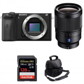 Sony ALPHA 6600 + Sony Distagon T* FE 35mm f/1.4 ZA + SanDisk 128GB Extreme PRO 170 MB/s + Camera Bag | 2 Years Warranty