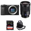 Sony ALPHA 6600 + Sony Distagon T* FE 35mm f/1.4 ZA + SanDisk 128GB Extreme PRO 170 MB/s + Sac| Garantie 2 ans