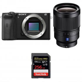 Sony ALPHA 6600 + Sony Distagon T* FE 35mm f/1.4 ZA + SanDisk 256GB Extreme PRO UHS-I SDXC 170 MB/s | 2 Years Warranty