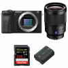 Sony ALPHA 6600 + Sony Distagon T* FE 35mm f/1.4 ZA + SanDisk 256GB Extreme PRO 170 MB/s + Sony NP-FZ100   2 Years Warranty