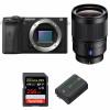 Sony ALPHA 6600 + Sony Distagon T* FE 35mm f/1.4 ZA + SanDisk 256GB Extreme PRO 170 MB/s + Sony NP-FZ100  Garantie 2 ans