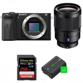Sony ALPHA 6600 + Sony Distagon T* FE 35mm f/1.4 ZA + SanDisk 256GB Extreme PRO 170 MB/s + 2 Sony NP-FZ100