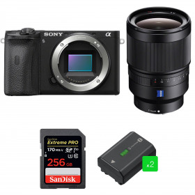 Sony ALPHA 6600 + Sony Distagon T* FE 35mm f/1.4 ZA + SanDisk 256GB Extreme PRO 170 MB/s + 2 Sony NP-FZ100 | 2 Years Warranty
