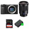 Sony ALPHA 6600 + Sony Distagon T* FE 35mm f/1.4 ZA + SanDisk 256GB Extreme PRO 170 MB/s + 2 Sony NP-FZ100| Garantie 2 ans