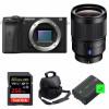 Sony ALPHA 6600 + Distagon T* FE 35mm f/1.4 ZA + SanDisk 256GB Extreme PRO 170 MB/s + 2 NP-FZ100 + Bolsa | 2 años de garantía