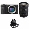 Sony ALPHA 6600 + Sony E 16-55mm f/2.8 G + Camera Bag | 2 Years Warranty
