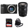 Sony ALPHA 6600 + Sony E 16-55mm f/2.8 G + SanDisk 64GB Extreme PRO UHS-I SDXC 170 MB/s + Bolsa   2 años de garantía