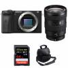 Sony ALPHA 6600 + Sony E 16-55mm f/2.8 G + SanDisk 64GB Extreme PRO UHS-I SDXC 170 MB/s + Sac | Garantie 2 ans