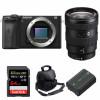 Sony ALPHA 6600 + Sony E 16-55mm f/2.8 G + SanDisk 64GB Extreme PRO 170 MB/s + Sony NP-FZ100 + Sac   Garantie 2 ans