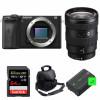 Sony ALPHA 6600 + Sony E 16-55mm f/2.8 G + SanDisk 64GB Extreme PRO 170 MB/s + 2 Sony NP-FZ100 + Sac | Garantie 2 ans