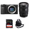 Sony ALPHA 6600 + Sony E 16-55mm f/2.8 G + SanDisk 128GB Extreme PRO UHS-I SDXC 170 MB/s + Bolsa   2 años de garantía