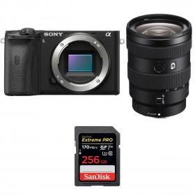Sony ALPHA 6600 + Sony E 16-55mm f/2.8 G + SanDisk 256GB Extreme PRO UHS-I SDXC 170 MB/s