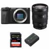 Sony ALPHA 6600 + Sony E 16-55mm f/2.8 G + SanDisk 256GB Extreme PRO UHS-I SDXC 170 MB/s + Sony NP-FZ100 | Garantie 2 ans