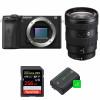 Sony ALPHA 6600 + Sony E 16-55mm f/2.8 G + SanDisk 256GB Extreme PRO 170 MB/s + 2 NP-FZ100 | Garantie 2 ans