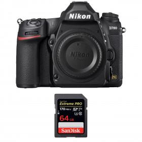 Nikon D780 Nu + SanDisk 64GB Extreme PRO UHS-I SDXC 170 MB/s