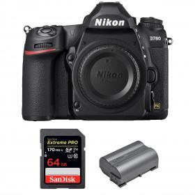 Nikon D780 Body + SanDisk 64GB Extreme PRO UHS-I SDXC 170 MB/s + Nikon EN-EL15b | 2 years Warranty