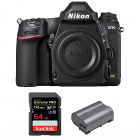 Nikon D780 Cuerpo + SanDisk 64GB Extreme PRO UHS-I SDXC 170 MB/s + Nikon EN-EL15b