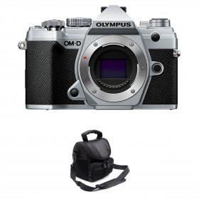 Olympus OM-D E-M5 Mark III Silver Body + Bag | 2 Years Warranty
