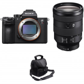 Sony ALPHA 7R III + FE 24-105mm f/4 G OSS + Sac
