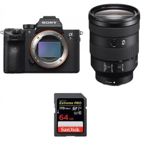 Sony ALPHA 7R III + FE 24-105 mm F4 G OSS + SanDisk 64GB Extreme PRO UHS-I 170 MB/s