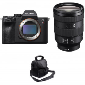 Sony ALPHA 7R IV + FE 24-105mm f/4 G OSS + Sac