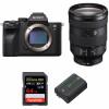Sony ALPHA 7R IV + FE 24-105 mm F4 G OSS + SanDisk 64GB Extreme PRO UHS-I SDXC 170 MB/s + Sony NP-FZ100   2 años de garantía