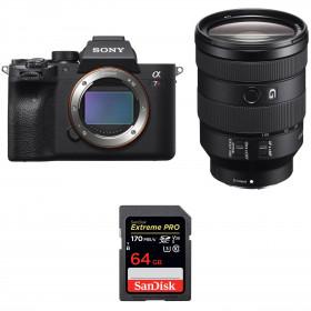 Sony ALPHA 7R IV + FE 24-105 mm F4 G OSS + SanDisk 64GB Extreme PRO UHS-I SDXC 170 MB/s | 2 Years Warranty