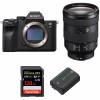 Sony ALPHA 7R IV + FE 24-105 mm F4 G OSS + SanDisk 128GB Extreme PRO UHS-I SDXC 170 MB/s + Sony NP-FZ100 | 2 años de garantía
