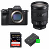 Sony ALPHA 7R IV + FE 24-105 mm F4 G OSS + SanDisk 128GB Extreme PRO UHS-I SDXC 170 MB/s + 2 Sony NP-FZ100   2 años de garantía