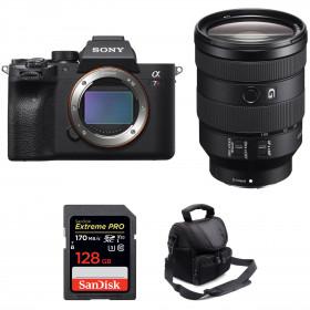 Sony ALPHA 7R IV + FE 24-105 mm F4 G OSS + SanDisk 128GB Extreme PRO UHS-I SDXC 170 MB/s + Bag | 2 Years Warranty